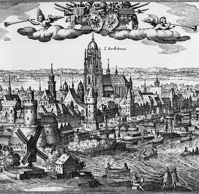 Frankfurt, geboortestad van Moses Lagrauw