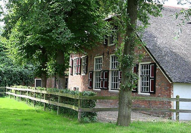 Hofstede Overdam te Houten, bewoond door Cornelis Aelberts de Cruijff in de 17e eeuw.