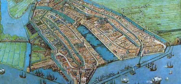 De expansie van Amsterdam….grachtengordel omringd door armzalige nieuwbouwwijken